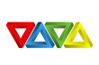 3d Dreiecke symbol