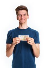 Teenager mit fünfzig Euro