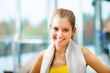 Fitness woman portrait