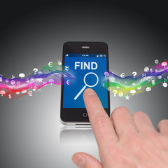 Smartphone Touch Screen Search