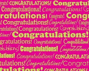 Congratulations collage