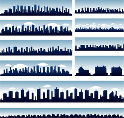 Vector city skylines eps 10