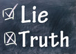 lie and truth choice