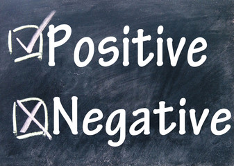 negative and positive choice