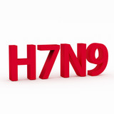 H7N9 flu or influenza virus