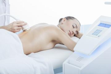 vacuum massage procedure in the medical center