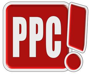 !-Schild rot quad PPC