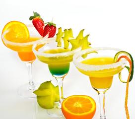 Fruchtige Cocktails genießen