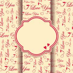 Beautiful floral invitation card. eps10