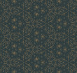Abstract Floral Dark Pattern. ...