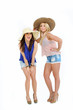junge Frauen im sommer