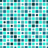 Marine square tile mosaic background - 51192891