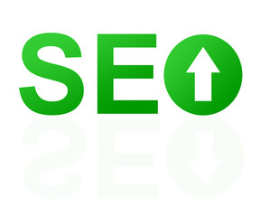 Abstract SEO Sign
