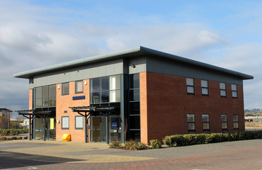 Office building in business park