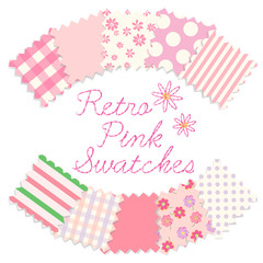 Retro Pink Swatches