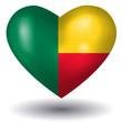Herz mit Schatten - Benin
