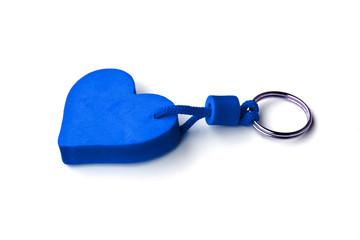 plavo srce, privezak