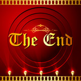 The End Screen with Film Strip