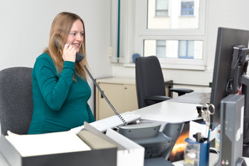 Pregnant woman at Workplace