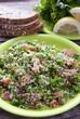 Traditional tabbouleh Arab salad