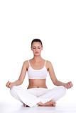 Fototapety woman meditation