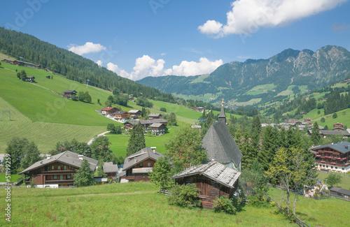 Urlaubsort Inneralpbach im Alpbachtal in Tirol