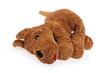 chien en peluche triste