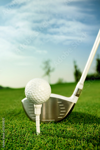 canvas print picture Golf