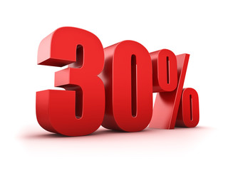 30 Prozent