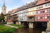 Merchants' Bridge. Erfurt, Germany.