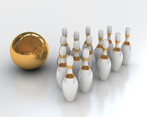 bowling (3-d visualization)