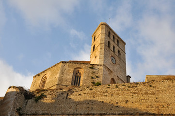 Cathedral of Eivissa, Ibiza (Spain)