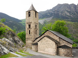 Romanesque church of Sant Joan de Boi in Vall de Boi