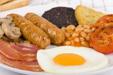 Full English Breakfast - Traditional British fry up!