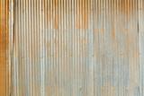 Fototapety Grunge Corrugated Zinc Sheet