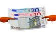 cancer claw european euro cash money banknotes