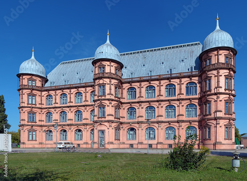 Castle Gottesaue in Karlsruhe, Germany