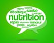 nuage de mots - nutrition