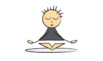 Yoga logo mignon