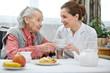 Leinwanddruck Bild - Nursing home