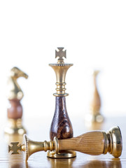 Chessmen on the Chessboard
