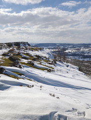 Baslow Edge, Peak District, England.