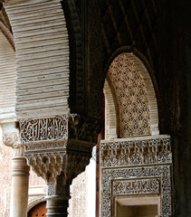 180 - arched pillars of alhambra granda