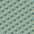 Arrows - geometric pattern in vintage green colors