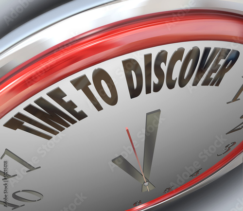 Time to Discover Words on Clock Scientific Research