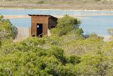 Birdwatching hideout poster