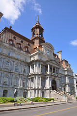 Montreal Old City Hall, Second Empire style, Quebec, Canada