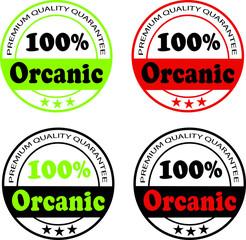 Best Quality Quarantee 100% Organic Icon,Banner,Sticker