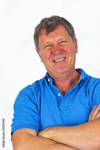 attractive casual man posing in studio