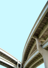 Isolation Of A Freeway Overpass With Clipping Path